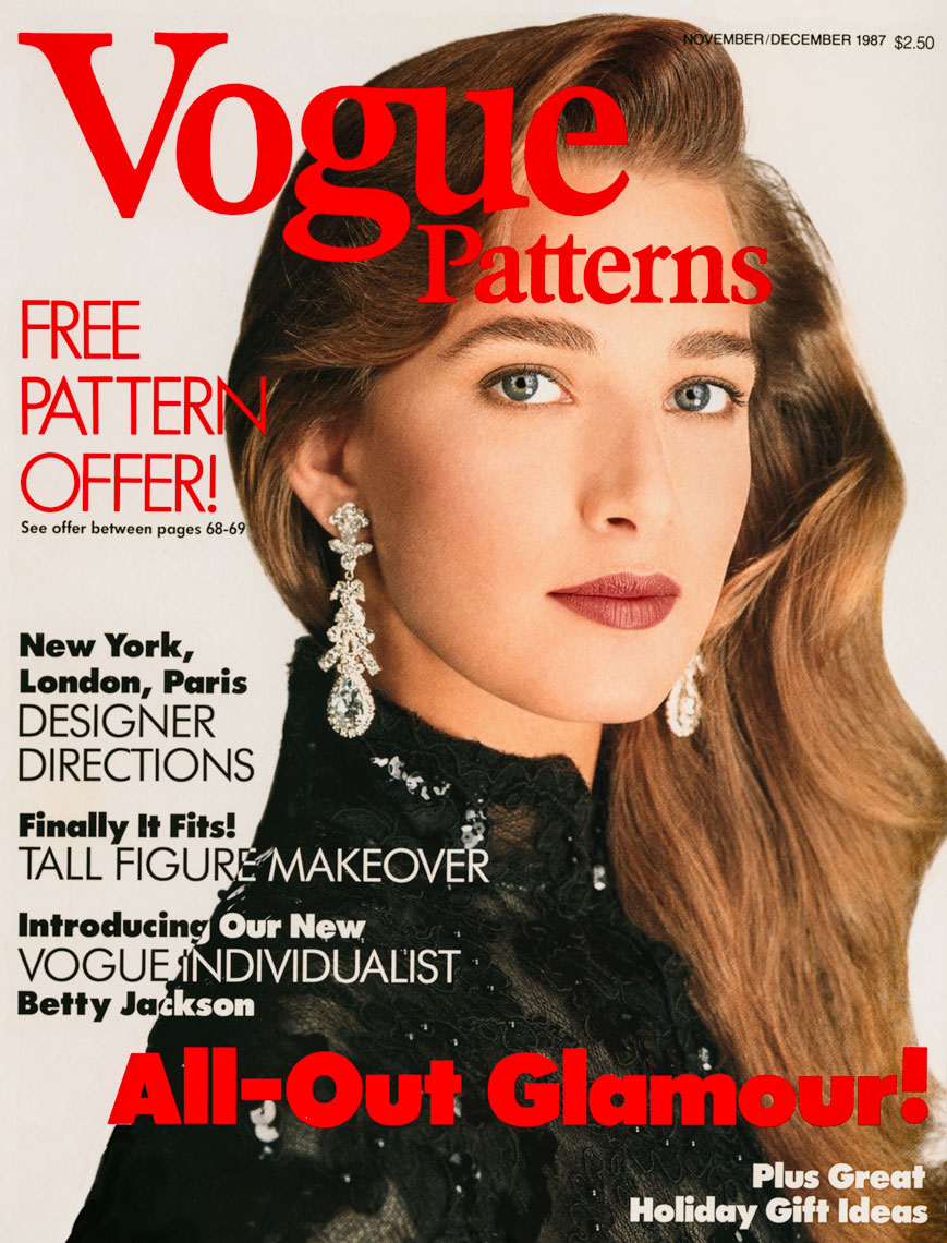 Cover Vogue Patterns 1987