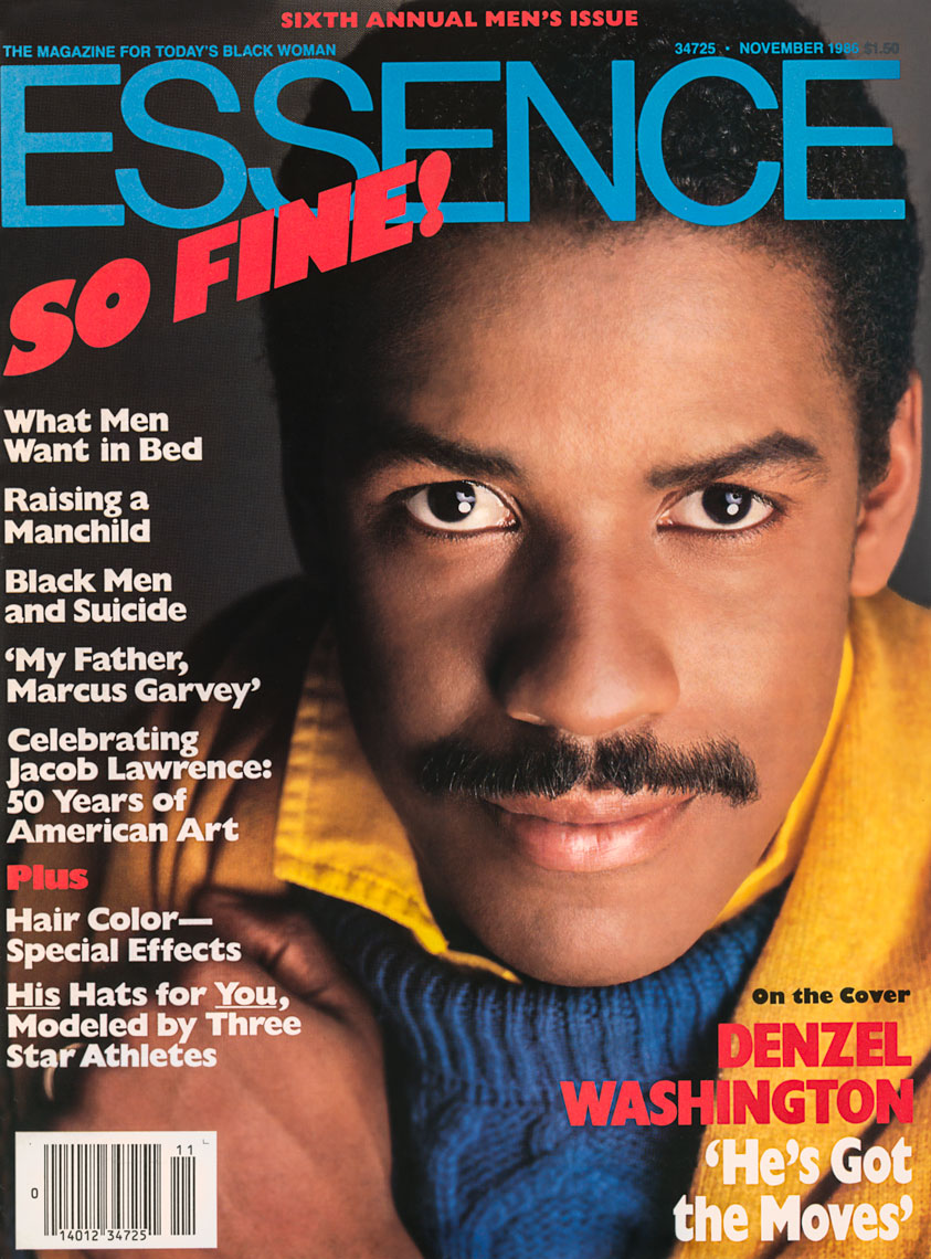 Denzel Washington for the Cover of Essence Magazine November 1986 issue
