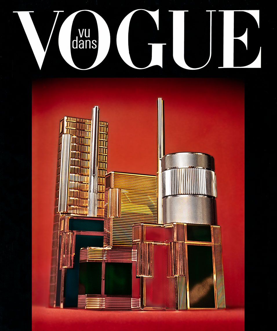 S.T. Dupont Luxury Lighters for French Vogue 1972