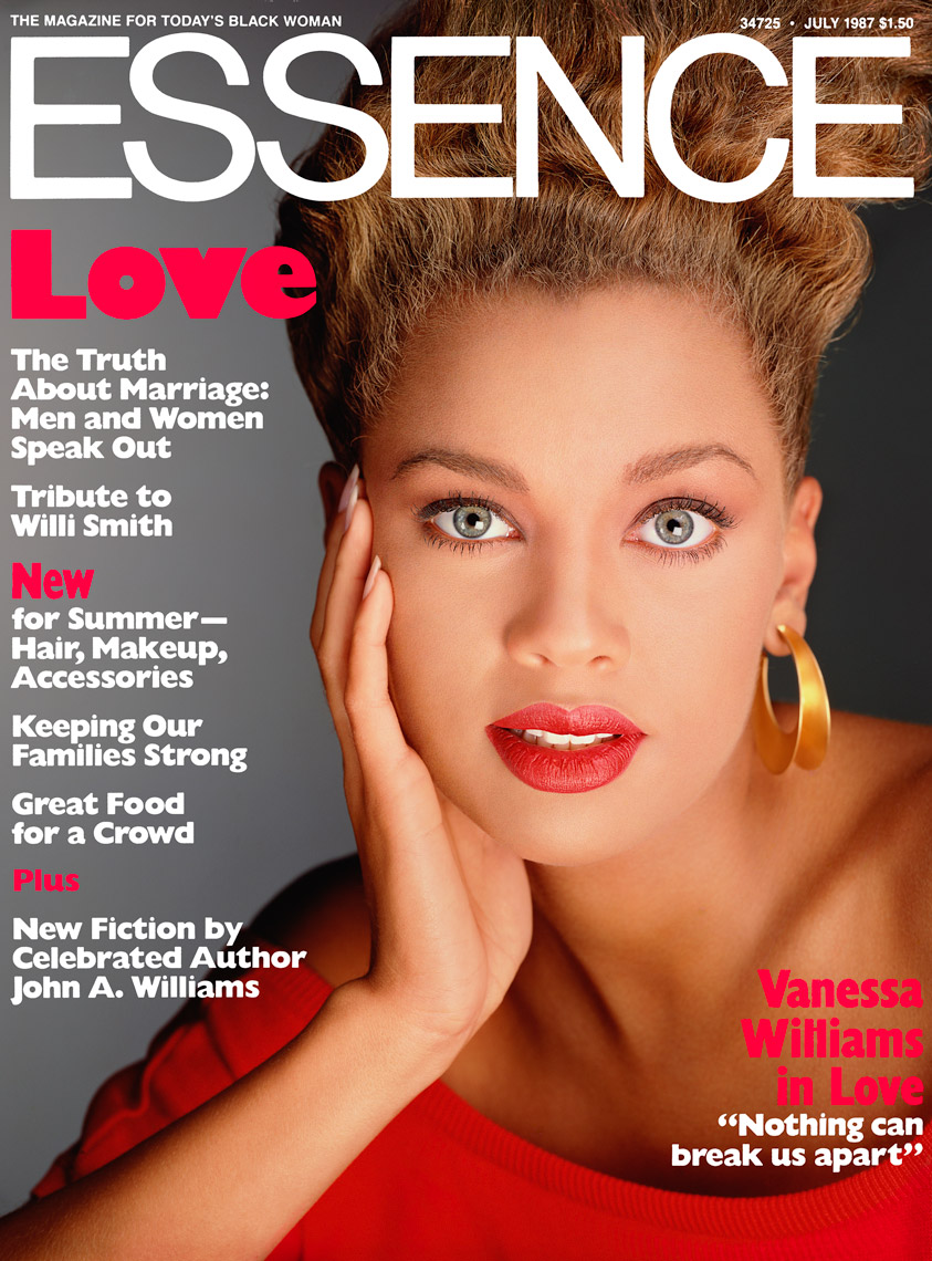 Vanessa Williams Cover of Essence Magazine, July  1987 Issue
